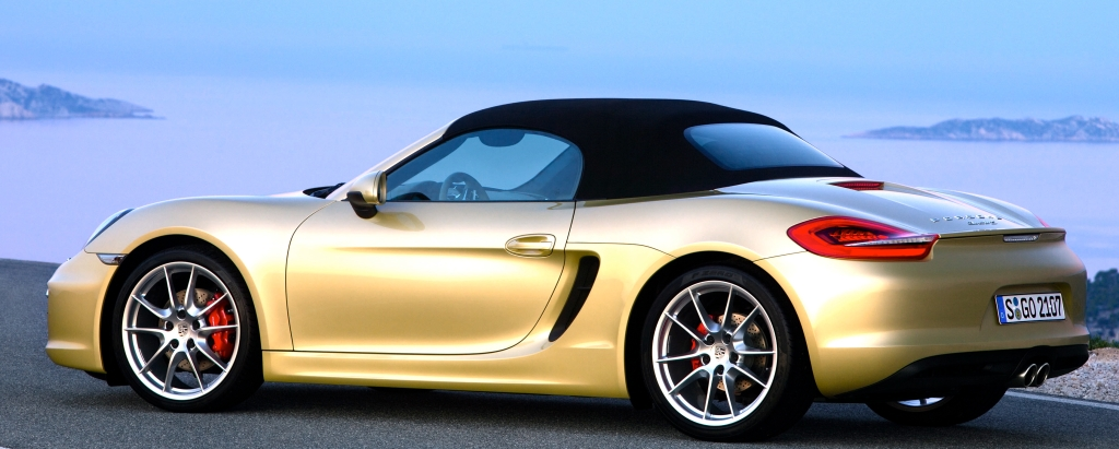 The new Boxster S is the best-handling and best-looking of all Porsches.