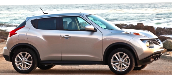 Elegant, hardly; useful and entertaining, certainly: Nissan�s 2013 sport-cross JUKE.