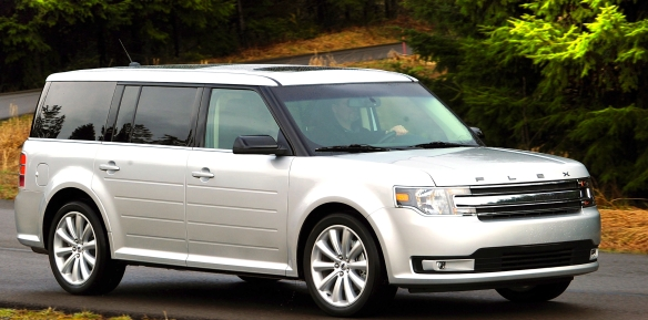 The Ford Flex casts a big shadow and has a unique look and mission.