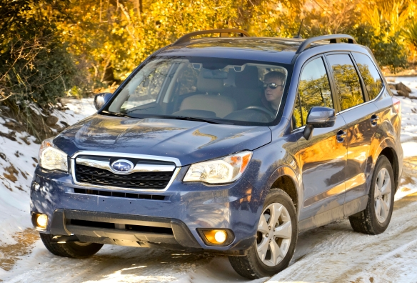 The 2014 Forester still looks a bit like an enclosed shopping cart, but a very roomy one, and the Forester is better equipped than ever.