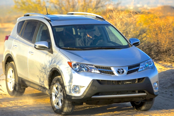 Look familiar? It should; Toyota�s RAV4 has been popular for almost 20 years, during which time it grew from a mini to a compact SUV and got handsome. Toyota photo