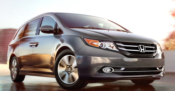 Spend enough on a Honda Odyssey and you�ll leave minivan territory behind and enter limousine world. Honda photo